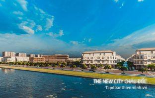 The New City Châu Đốc cạnh miếu xứ chùa bà An Giang